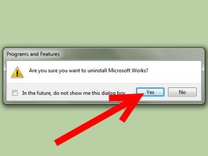 Uninstall-Microsoft-Works